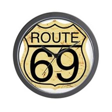 Route 69 Wall Clock