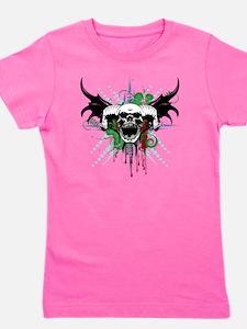 Devil Skull Girl's Tee