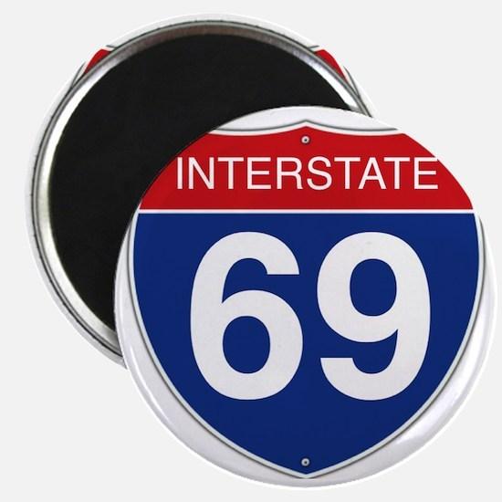 Interstate 69 Magnet