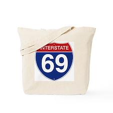 Interstate 69 Tote Bag