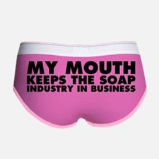 My Mouth Keeps the Soap Industry Women's Boy Brief
