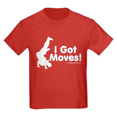 I Got Moves Kids Dark T-Shirt