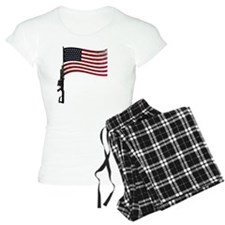 Gun Flag Black Pajamas