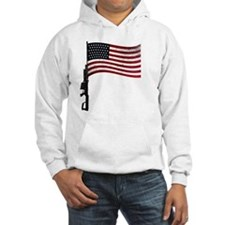 Gun Flag Black Jumper Hoody
