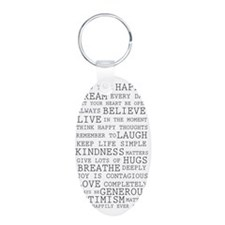 Positive Thoughts Keychains