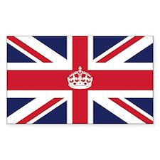 Royal British Flag Decal