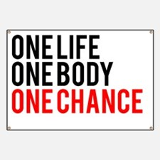 One Life One Body One Chance | Fitness Slog Banner