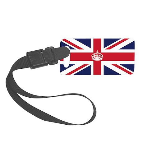 Royal British Flag Small Luggage Tag