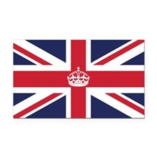 Royal British Flag Rectangle Car Magnet