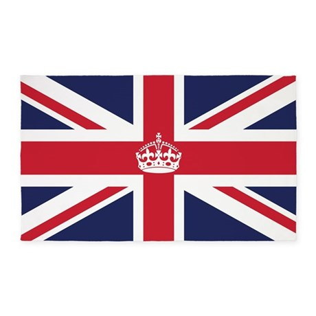 Royal British Flag 3'x5' Area Rug