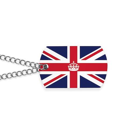 Royal British Flag Dog Tags