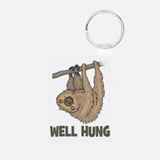 The Well Hung Sloth Keychains