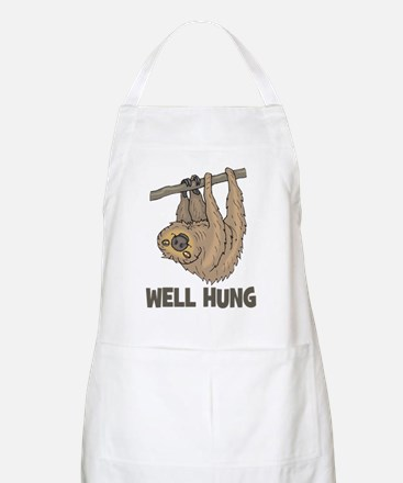 The Well Hung Sloth Apron
