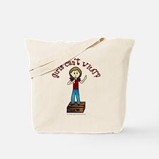 Light Soapbox Tote Bag