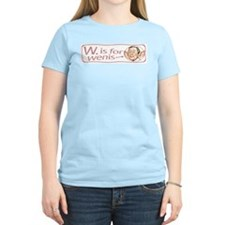 W. is for wenis T-Shirt