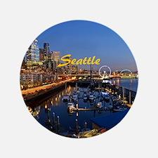 "Seattle_8.56x7.91_GelMousepad_SeattleW 3.5"" Button"