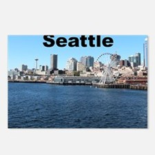 Seattle_6x6_SeattleWaterf Postcards (Package of 8)