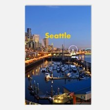 Seattle_8.887x11.16_iPadS Postcards (Package of 8)