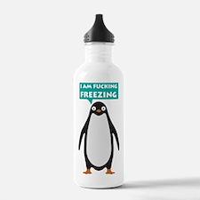 I am fucking freezing Water Bottle