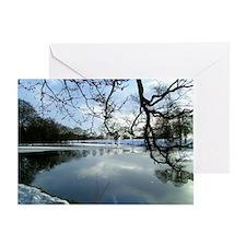 landscape,Leeds Greeting Card