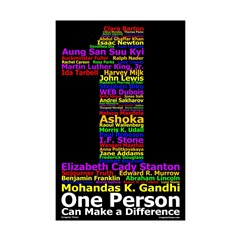 One Person (11x17 Poster Print)