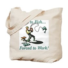 Born to Fish Shirts and Gifts Tote Bag
