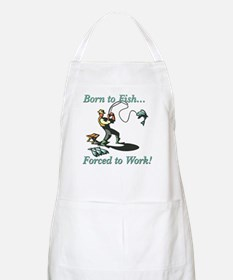 Born to Fish Shirts and Gifts BBQ Apron
