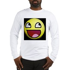 Epic Smiley Face Long Sleeve T-Shirt