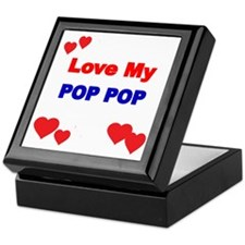 LOVE MY POP POP 2 Keepsake Box