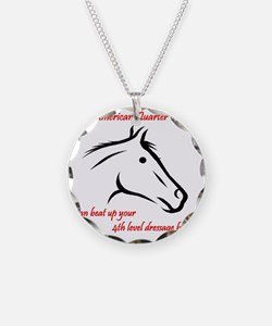 My American Quarter Horsecan Necklace