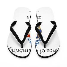Welcome Prince of Cambridge Flip Flops