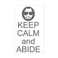 Keep Calm and Abide Bumper Stickers