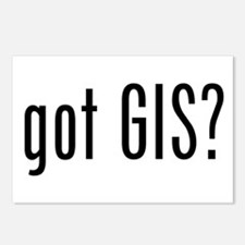 got GIS? Postcards (Package of 8)
