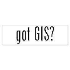 got GIS? Bumper Bumper Sticker