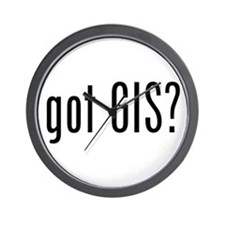 got GIS? Wall Clock