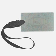 salmon in the ring Luggage Tag