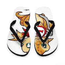 Lobster Dinner Dragon Flip Flops