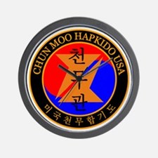 Chun Moo Hapkido USA Logo Wall Clock
