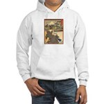 Japanese print Hooded Sweatshirt