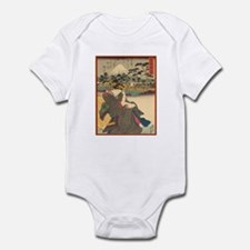 Japanese print Infant Bodysuit