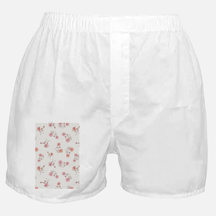 Bicicles_White_Large Boxer Shorts