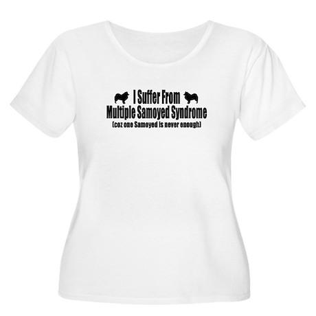 Samoyed Women's Plus Size Scoop Neck T-Shirt
