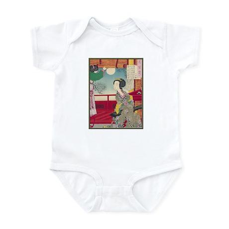 Japanese illustration Infant Bodysuit