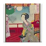 Japanese illustration  Tile Coaster