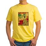 Japanese illustration  Yellow T-Shirt