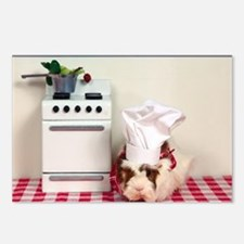 Chef Guinea Postcards (Package of 8)