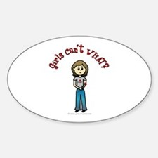 Gerard Butler Fan Oval Decal