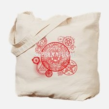 Supernatural Red signs Tote Bag