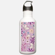 FlowerBotanical_Lilac_ Water Bottle