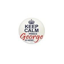 Prince George is Here Mini Button